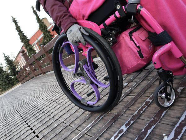 Purple Loopwheels