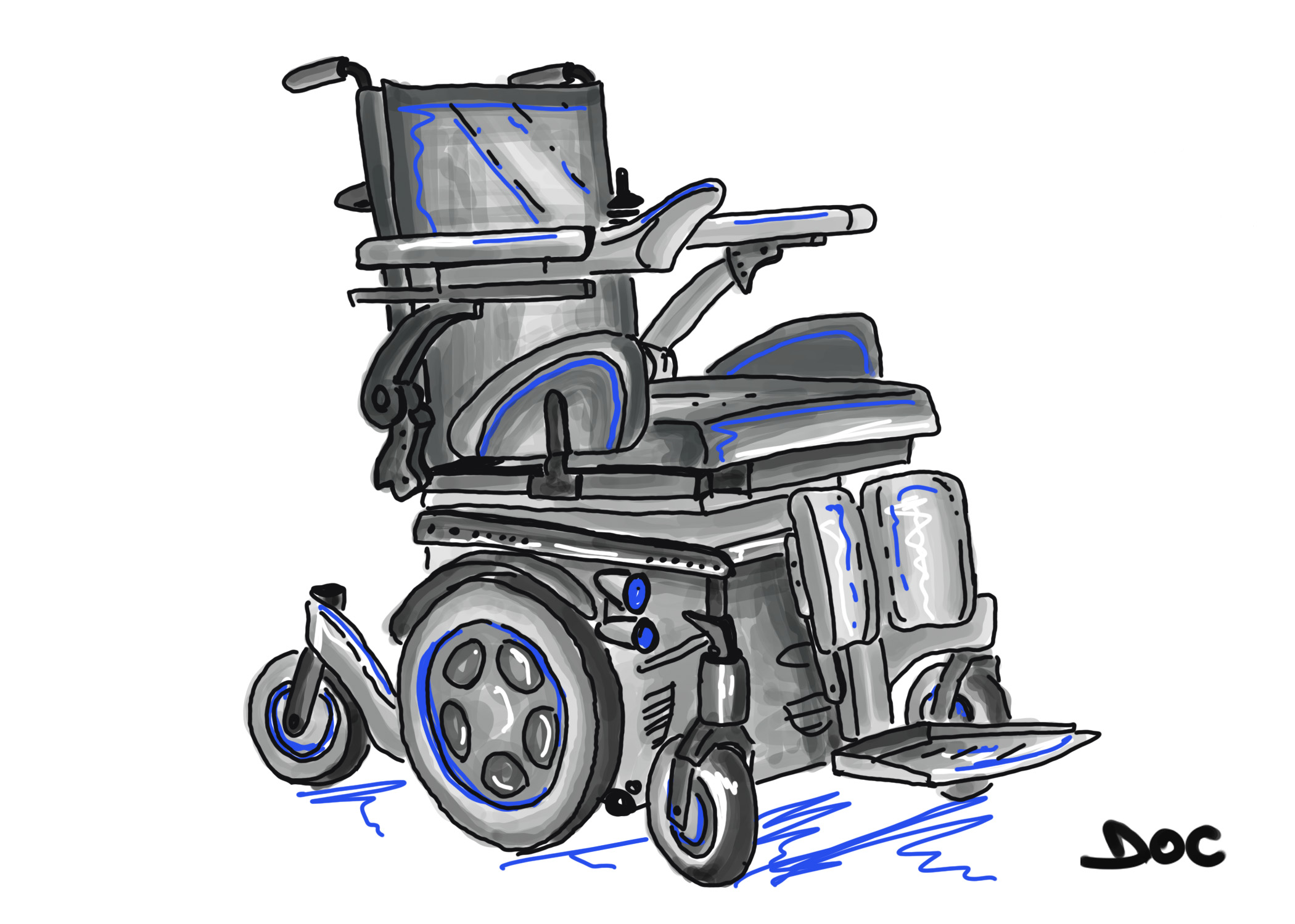 Quickie Zippie Salsa – Powered Wheelchair