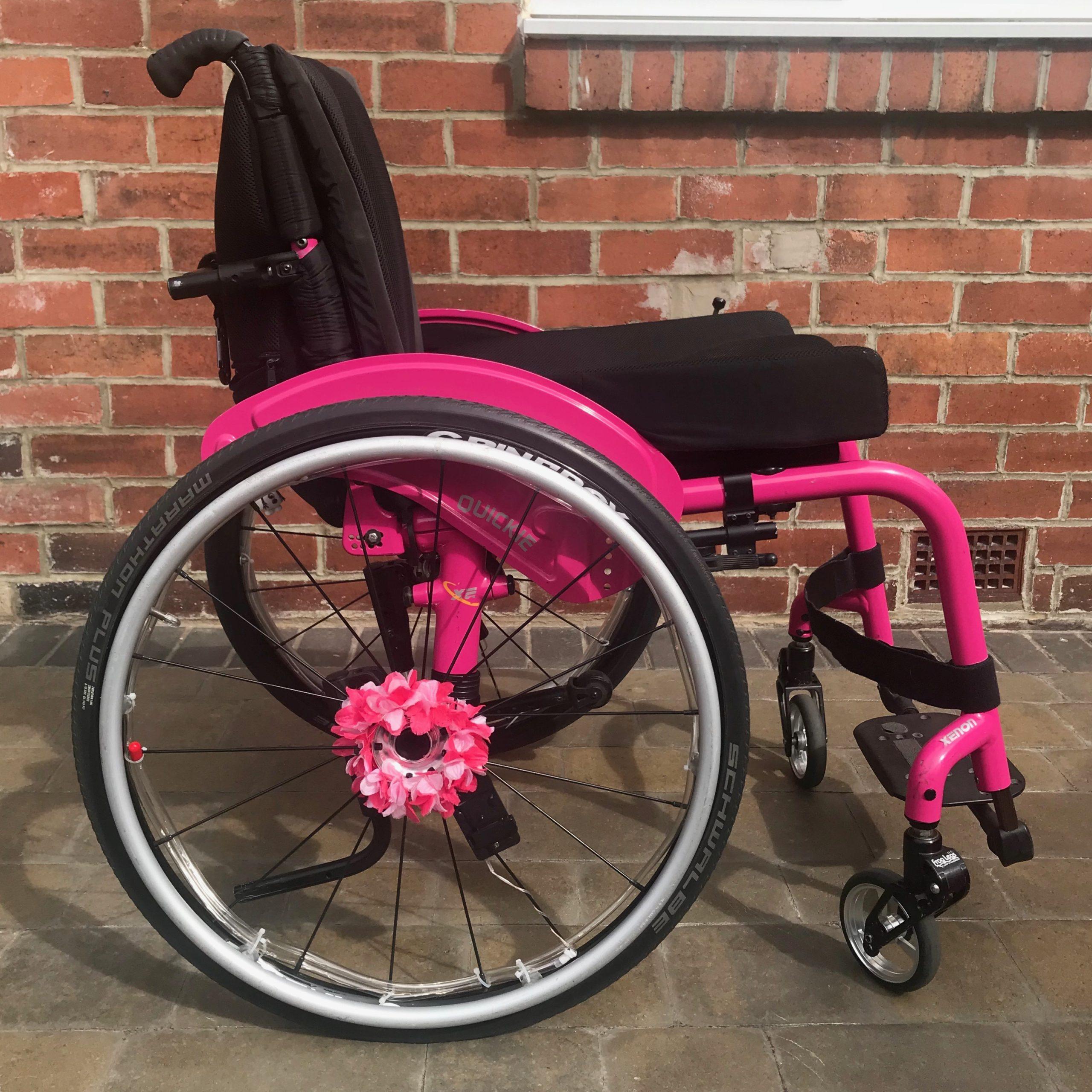Quickie Xenon – Manual Wheelchair
