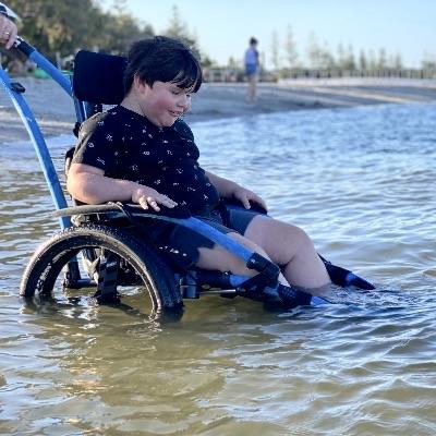 Hippocampe – Beach Wheelchair