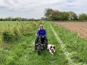 Triride – Wheelchair Attachment