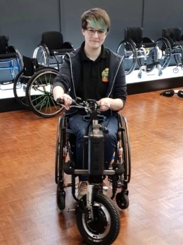 Triride Compact Light – Wheelchair Attachment