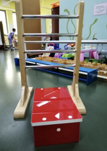 Wooden Therapy Ladder – Standing Support