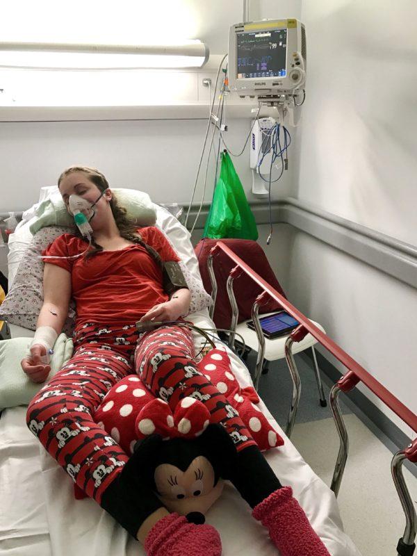 Lauren In Hospital