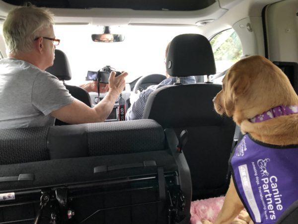 Inside VW Caddy Maxi