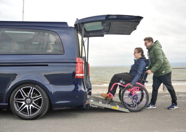 Mercedes-Benz V-Class Grande Wheelchair Access