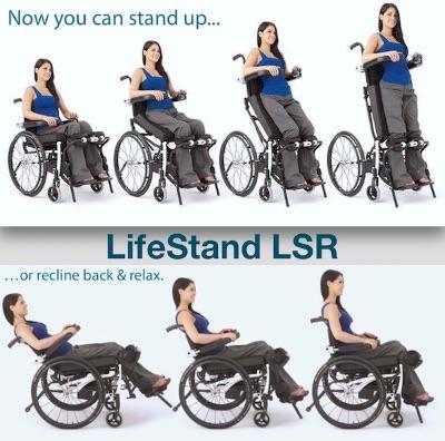 Lifestand Helium LST – Standing Wheelchair