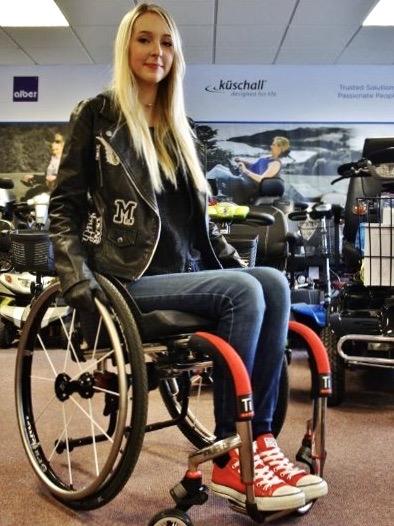 Permobil Tilite ZR – Manual Wheelchair