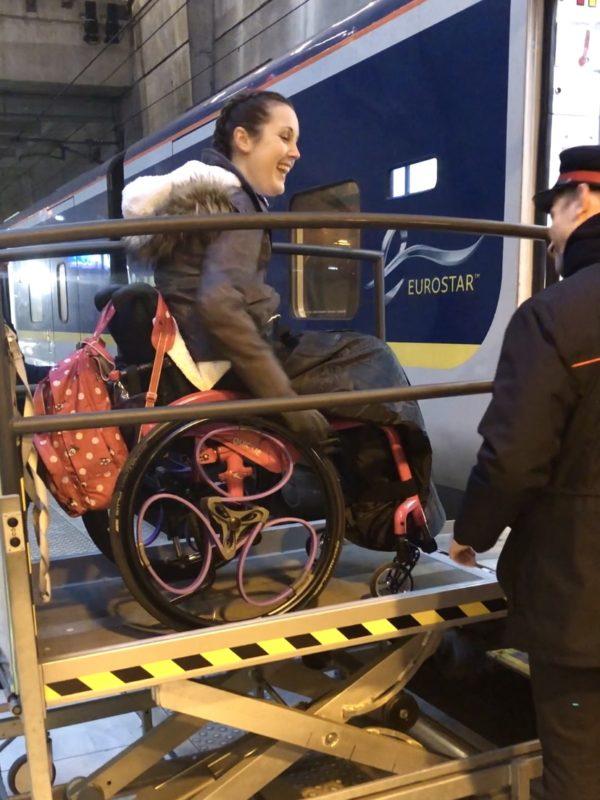 Eurostar Disabled Access