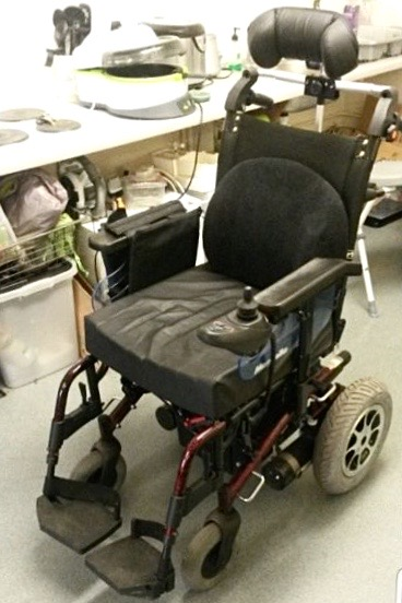 Shoprider Marbella – Powered Wheelchair