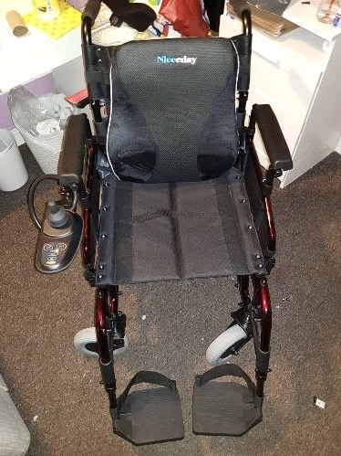 Shoprider Sirocco – Powered Wheelchair