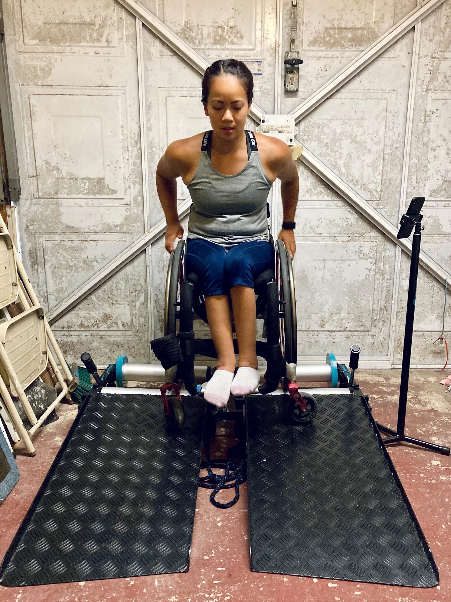 Invictus Active – Wheelchair Trainer