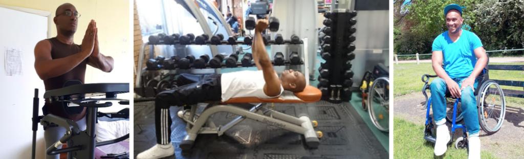 Elliot Barrington Exercising