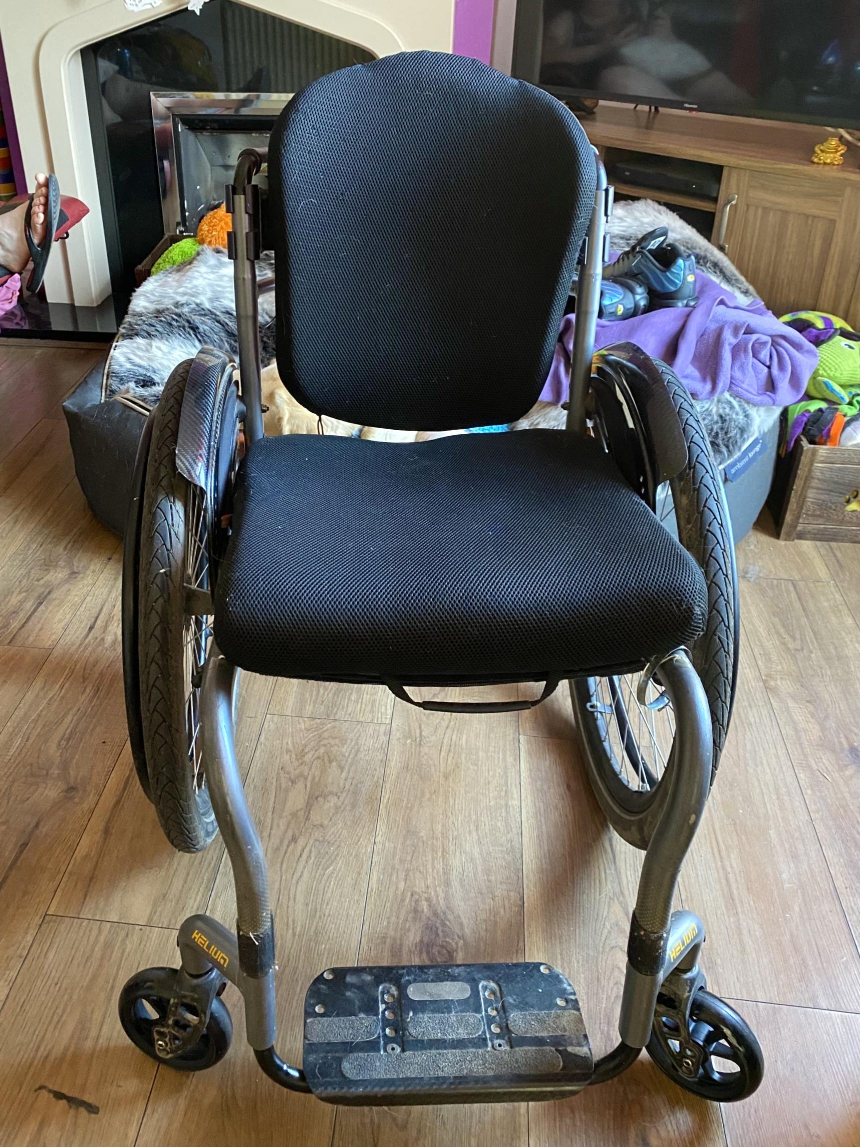 Quickie Helium Wheelchair