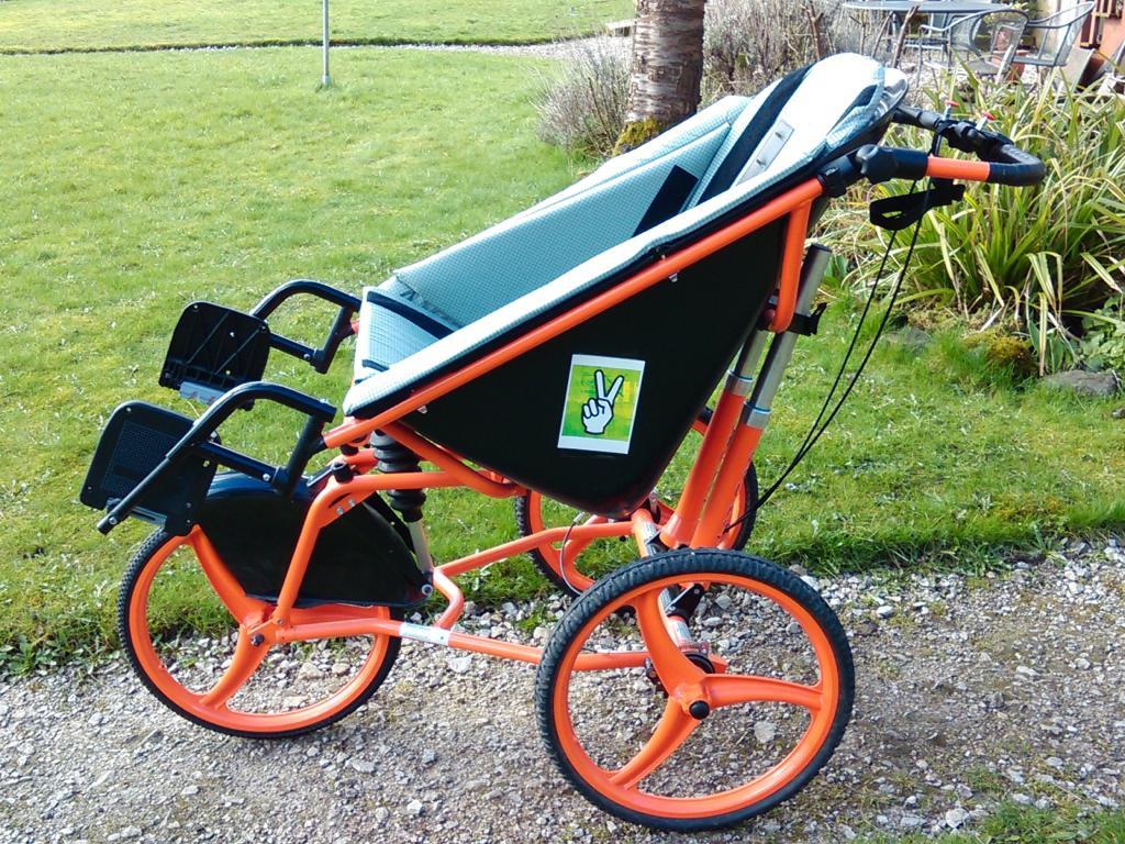Largoo All Terrain Adult Wheelchair Buggy