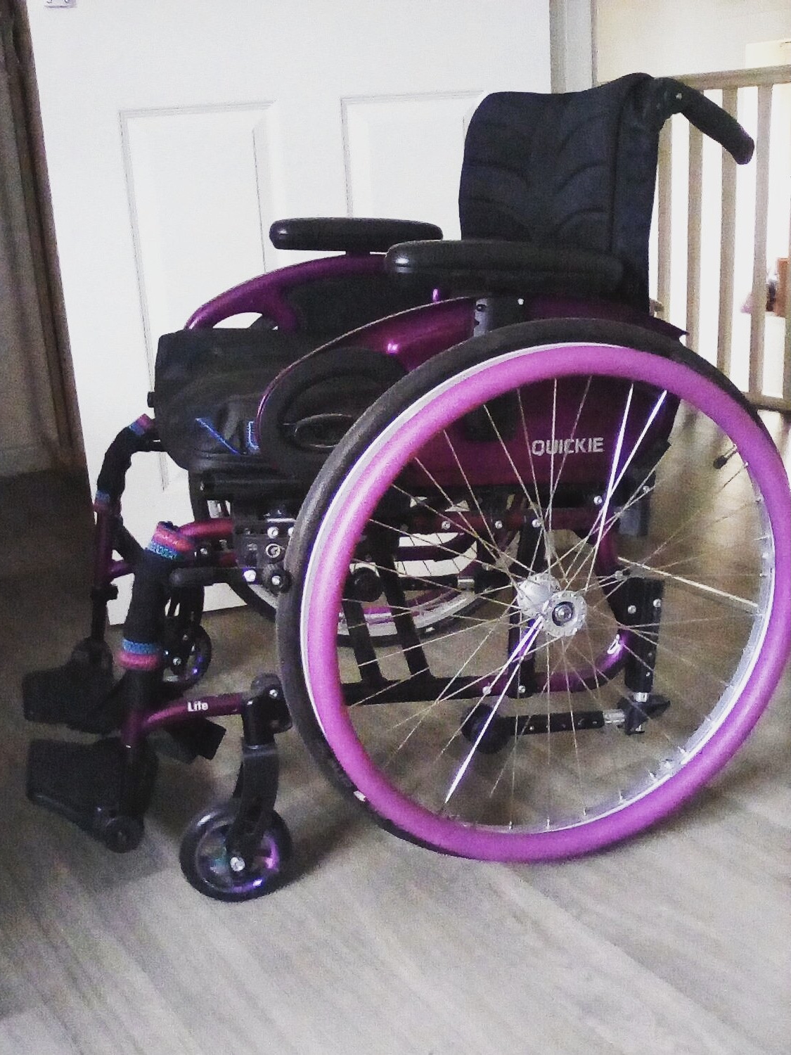 Quickie Life F Wide Wheelchair